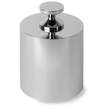 Troemner 30 kg Stainless Steel Cylindrical Screw Knob Weight, No Certificate, UltraClass