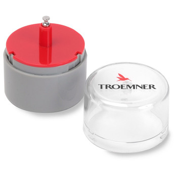 Troemner 1 g Alloy Cylindrical Screw Knob Weight, Traceable Certificate, UltraClass