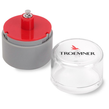 Troemner 5 g Alloy Cylindrical Screw Knob Weight, Traceable Certificate, UltraClass