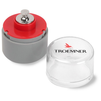 Troemner 50 g Alloy Cylindrical Screw Knob Weight, Traceable Certificate, UltraClass