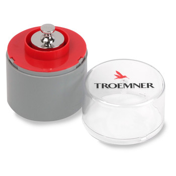 Troemner 300 g Alloy Cylindrical Screw Knob Weight, Traceable Certificate, UltraClass