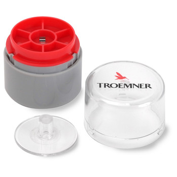 Troemner 20 mg Stainless Steel Flat Weight, NVLAP Accredited Certificate, UltraClass