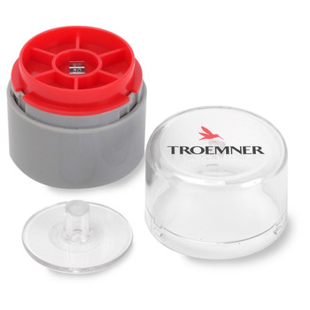 Troemner 50 mg Stainless Steel Flat Weight, NVLAP Accredited Certificate, UltraClass