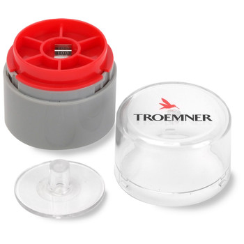 Troemner 100 mg Stainless Steel Flat Weight, NVLAP Accredited Certificate, UltraClass