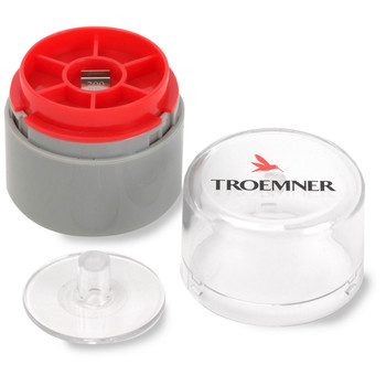 Troemner 200 mg Stainless Steel Flat Weight, NVLAP Accredited Certificate, UltraClass