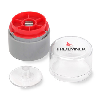Troemner 500 mg Stainless Steel Flat Weight, NVLAP Accredited Certificate, UltraClass