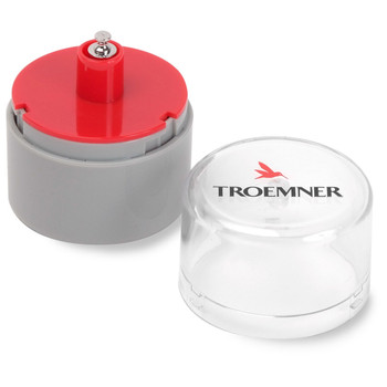 Troemner 3 g Alloy Cylindrical Screw Knob Weight, NVLAP Accredited Certificate, UltraClass
