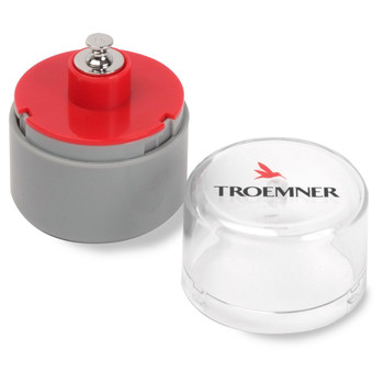 Troemner 20 g Alloy Cylindrical Screw Knob Weight, NVLAP Accredited Certificate, UltraClass