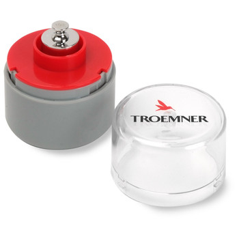 Troemner 30 g Alloy Cylindrical Screw Knob Weight, NVLAP Accredited Certificate, UltraClass