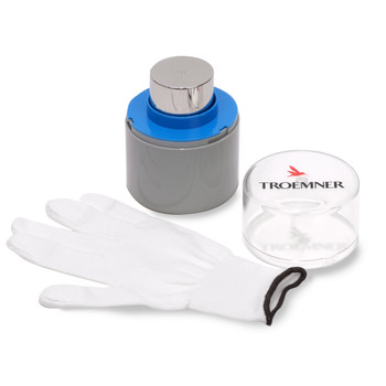 Troemner 600 g Stainless Steel Cylindrical Weight, Traceable Certificate, UltraClass