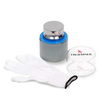 Troemner 2 kg Stainless Steel Electronic Balance Weight, NVLAP Accredited Certificate, UltraClass