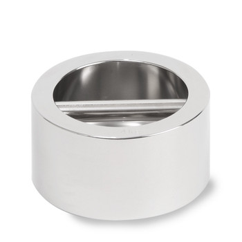 Troemner 4 kg Stainless Steel Cylindrical Weight, NVLAP Accredited Certificate, UltraClass