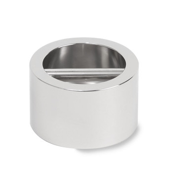 Troemner 8 kg Stainless Steel Cylindrical Weight, NVLAP Accredited Certificate, UltraClass