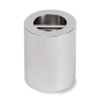 Troemner 25 kg Stainless Steel Cylindrical Weight, NVLAP Accredited Certificate, UltraClass