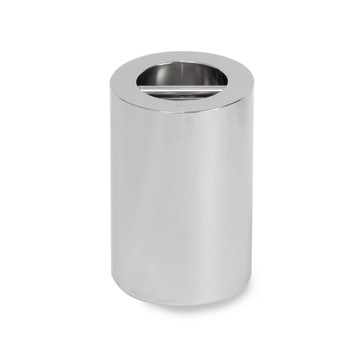 Troemner 30 kg Stainless Steel Cylindrical Weight, NVLAP Accredited Certificate, UltraClass