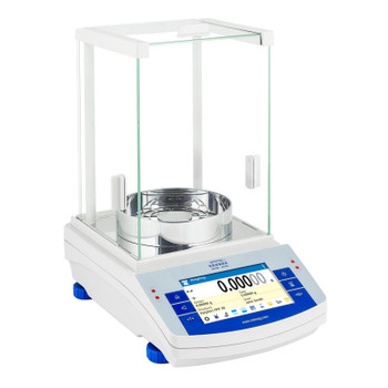 Radwag AS 82/220.X2 Dual Range Semi Micro Balance, Internal Calibration, NTEP