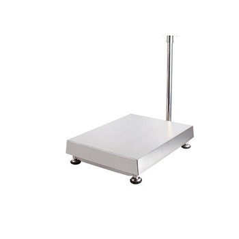 "Anyload TNS2525-60kg Stainless Steel Bench Scale Base, 10"" x 10"", 132 lb"