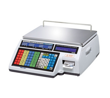 CAS CL-5500 Series Dual Range Label Printing Scale, NTEP