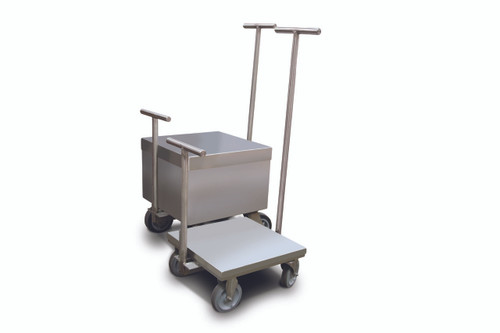 Rice Lake 500 kg Clean Room Weight Cart