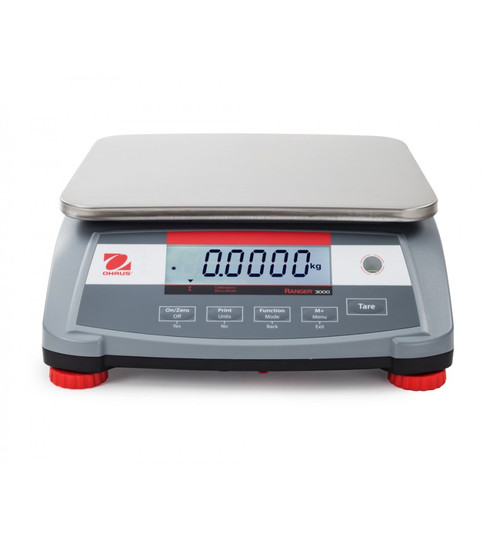 OHAUS Ranger 3000 R31P3 Front View
