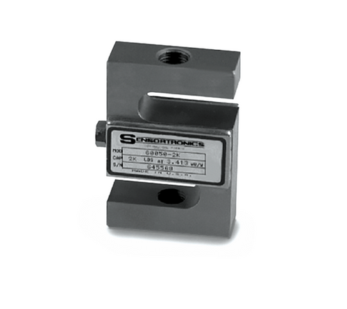 Sensortronics 60050-250 lb Stainless Steel S-Beam Load Cell
