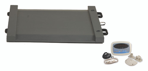 Brecknell DS-1000 Drum Scale Package, 1000 lb x 0.5 lb