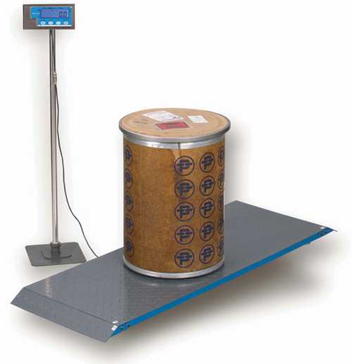 Brecknell PS-2000 Veterinary Floor Scale (with optional stand, not included)