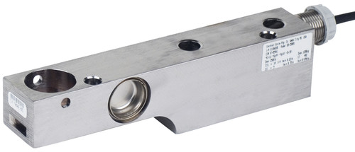 Cardinal Detecto SB-5000S 5000 lb Stainless Steel Single Ended Beam Load Cell, NTEP