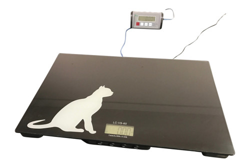Tree LC-VS 60 Veterinary Scale with (optional) remote display