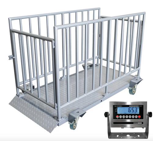 Optima OP-930 Calf/Small Livestock Scale, 2,000 lbs. x 0.5 lb