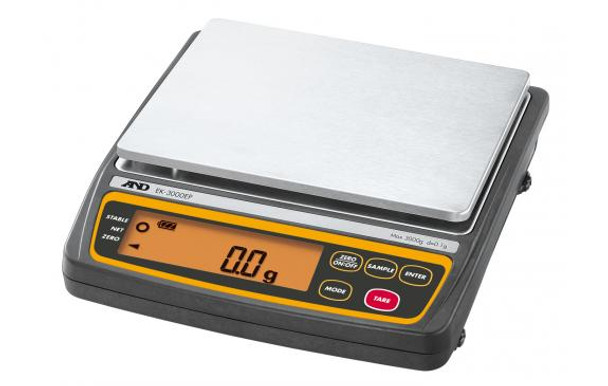 A&D Weighing  EK-3000EP Everest Intrinsically Safe Compact Balance,  3000 g x 0.1 g