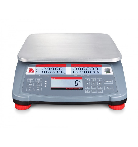 OHAUS Range Count 3000 RC31P6 Front View