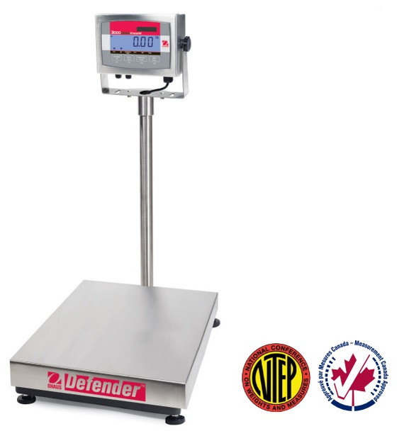 ntep washdown bench scale ohaus