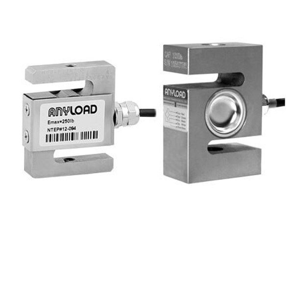 Anyload 101NH-1Klb 1000 lb S-Beam Load Cell, NTEP