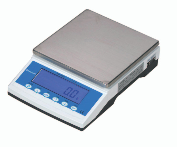 Brecknell MBS-1200 Precision Lab Balance, 1200 g x 0.02 g (816965004904)