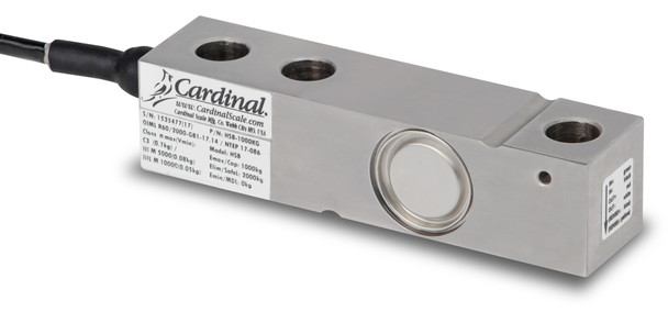 Detecto HSB-500KG 500 kg Stainless Steel Single Ended Beam Load Cell, NTEP
