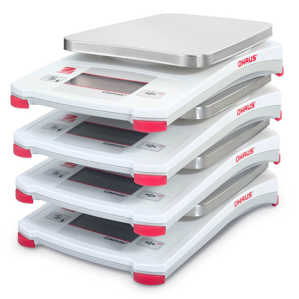 5200 g x 1 g with Carrying Case Ohaus CX5200F CX Compass Series Portable Balance