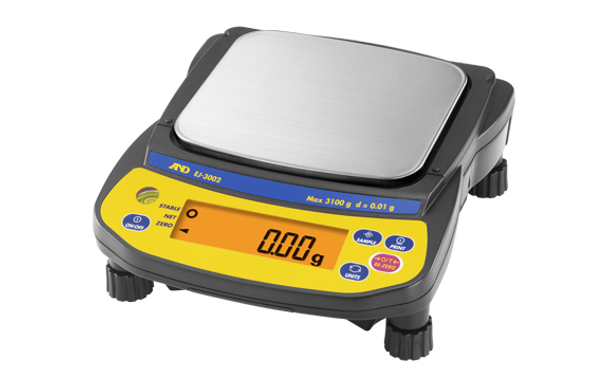 A&D Weighing Newton EJ-3002 Portable Precision Balance, 3100 g x 0.01 g
