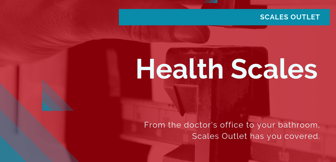 Health scales for the physician's office, hospitals, and in-home use.
