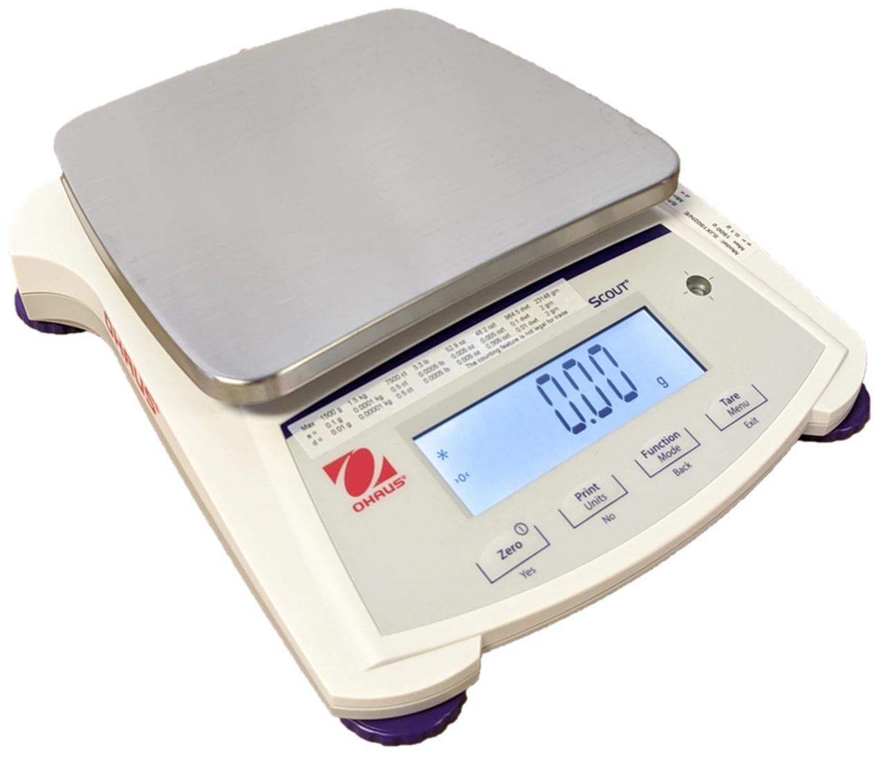 OHAUS SJX 1502NE Portable Dispensary Scale