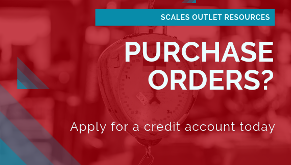 Set up a credit account with Scales Outlet