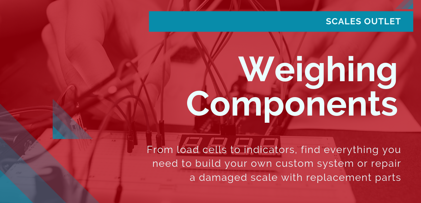 From load cells to indicators, find everything you need to build your own custom system or repair a damaged scale with replacement parts