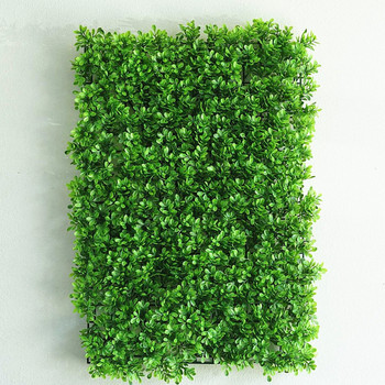 12 Panels 31 Sq ft. Artificial Lime Green Boxwood Hedge Genlisea Faux Foliage Wall Backdrop Decoration for Party Wedding Indoor & Outdoor Garden