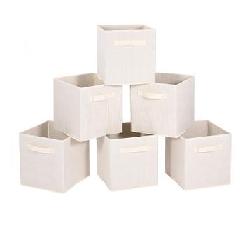 Storage Bins Fabric Box (Set of 6)