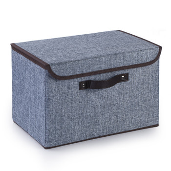 Collapsible Storage Bins with Cover