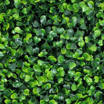 12 Panels 33 Sq ft. Artificial Boxwood Hedge Faux Foliage Greenery Backdrop Grass Wall for Wedding Home Garden Party
