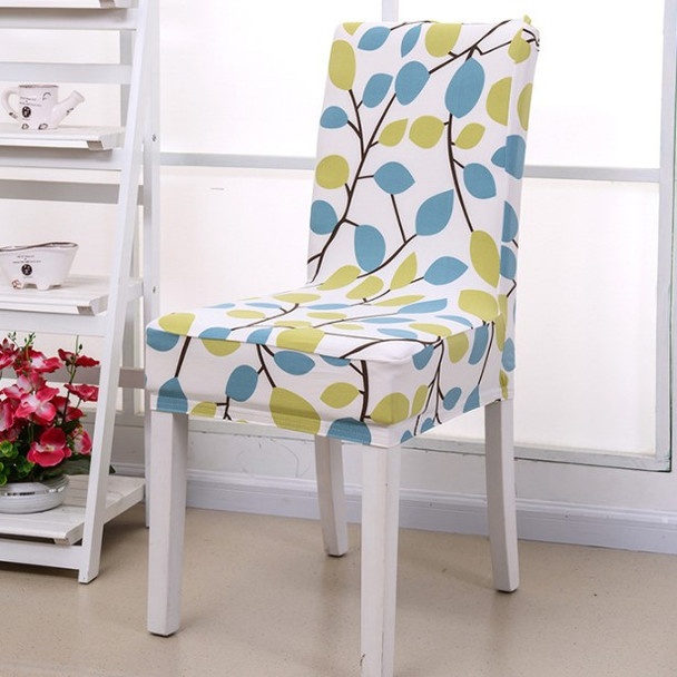 Season Flower Elegant Polyester and Spandex Stretch Washable Dining Chair Slipcover Chair Cover