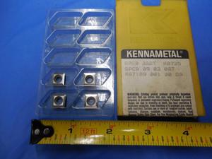 4PCS New KENNAMETAL SPGM 2153 Carbide Turning Inserts Grade KC850 SPGM2153 3//32