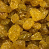 Dried Golden Raisins. Sold by the lb.