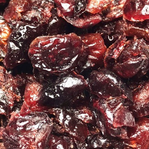 Dried Cranberries (sulphite free).